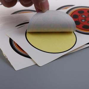 China Permanent Printed Self Adhesive Labels Private Logo Glossy Lamination wholesale
