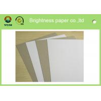 China Grade AA Recycled Grey Back Duplex Board For Packaging Commodity wholesale