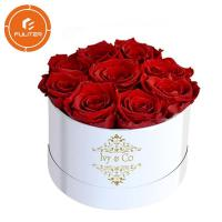 China High-end packaging flower gift box wholesale custom unique luxury rose gift box on sale