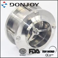 China Three Piece Welding Hydraulic Pneumatic Check Valve For Beverage / Wine / Oil wholesale