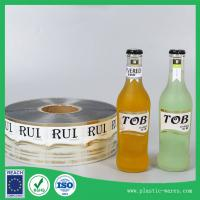 China self adhesive printed labels for bottles wholesale