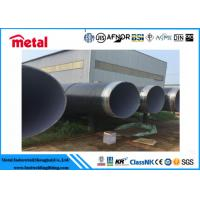 """China 4"""" Sch40 API5L  Pipe Coated Stainless Steel Tubing LSAW Coated Steel Gas Pipe Anti Corrosion Protection wholesale"""