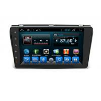 China Android 6.0 Double Din Navigation Bluetooth , Multimedia Car Navigation System Mazda 3 2004-2009 wholesale