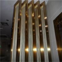 China Polished Finishes Black Stainless Steel Angle U Shape Trim 201 304 316 wholesale