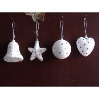 China Small White Star, Ball, Heart, Bells Shopping Mall Christmas Decorations Pendant Baubles on sale