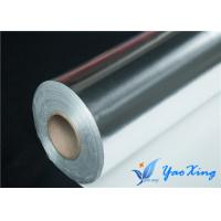 China Industrial Heat Insulation Aluminized Fiberglass Fabric Single Side wholesale