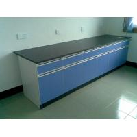 China Chemical Laboratory Wall Bench Solid Customnized With Drawer wholesale