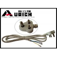 China South Africa India Three Prong Electrical Cord 3 Poles 3 Wires For Washer And Dryer wholesale