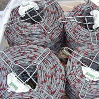 China Galvanized,Aluminum,Stainless Steel Barbed Tape Wire,Green Red PVC,Vinyl Coated on sale