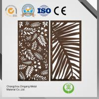 China Curtain Wall Laser Cut Metal Panels And Screens With Different Patterns wholesale