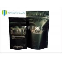 China Oem Food Grade custom printed coffee bean packaging bags With Tear Notch wholesale