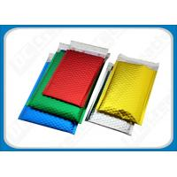 China Colored Aluminum Foil Bubble Mailer Envelope Glamour Metallic Bubble Mailers Bags on sale