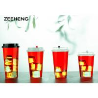China 12oz 400ml food grade of PP clear plastic disposable cups for cold drinks wholesale