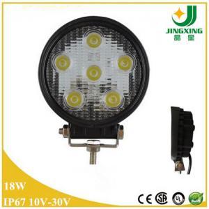 Round car led work light 18w cree led work lamp