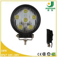 Quality Round car led work light 18w cree led work lamp for sale