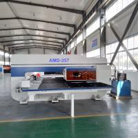 China Industrial Cnc Hydraulic Plate Punching Machine For Sheet Metal 3 - 4 Control Axis on sale