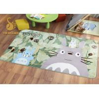 China Short Plush Digital 3D Printed Non Slip Area Rugs For Bedroom / Living Room wholesale