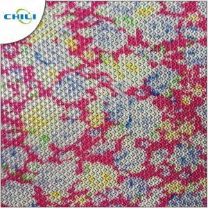 China PU PVC Vegan Leather Fabric , Faux Leather Rolls Anti Mildew Lightweight wholesale