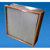 China 99.99% High Efficiency Particulate Air Hepa Filter H13 H14 For Spray Booth wholesale