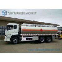 China Diesel 21.2m3 Pump Chemical Tanker Truck Dong Feng 6x4 Truck ISDe245 40 Engine wholesale