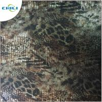 China Professional Fashion PVC Leather Fabric Breathable Various Colors Home Textile wholesale