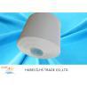 China Raw White Semi Dull Polyester Yarn 42 / 2 100% Yizheng Polyester Staple Fiber wholesale