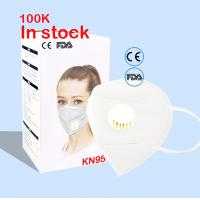 China Anti Pollution N95 Face Mask ,  Folding  N95 Filter Mask Certified For Smoke wholesale