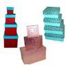 China PBX009 Red Medium Valentine Gift Paper Bag with Heart Shape wholesale