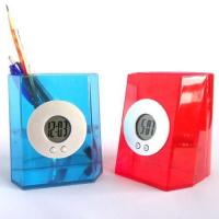 China Water Power Clock with Pen Holder wholesale