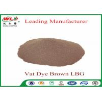 China Synthetic Textile Reactive Dyes Vat Brown Lbg Textile Dyes And Chemicals wholesale