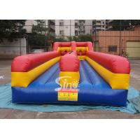 China 10m long kids N adults inflatable bungee run for indoor or outdoor 2 person interactives on sale