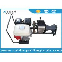1 Ton Honda Engine Compact Electric Cable Winch Puller to Stringing Wire Manufactures