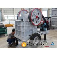 China Mobile Small Portable Gold Rock Stone Mini Diesel Engine Jaw Crusher Machine Price For Sale on sale