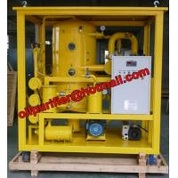 China Super High Voltage Transformer Oil Purifier Type insulation Oil Purification Machine for 200KVX,500KVA,700KVA wholesale