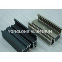 Quality Colorful High Hardness Curtain Wall Aluminum Profiles Wear Resistance for sale