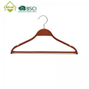 """China 15.8x8.6"""" No Trace Plastic Store Hangers Without Notches Harmless wholesale"""