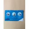 China PET + PET Composite Waterproof Foil Ziplock Bags 5 Colors Gravure Printing wholesale