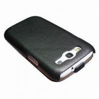 China Mobile Phone Case, Synthetic Leather Case for Samsung Galaxy S3 wholesale