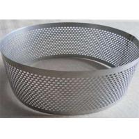 China Galvanized Perforated Stainless Steel Mesh Sheet For Filtration Support wholesale