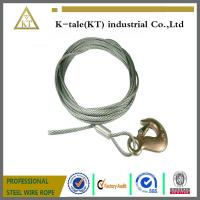 China 7x19 6.0mm Crane stainless steel wire rope sling /Steel Wire Rope Sling on sale