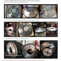 China Resin Diamond Wheel for Cylindrical Grinding,Cylindrical Grinding wheel,Cylindrical Grinding Wheels For Hard Metal wholesale
