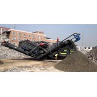 China Construction Waste Mobile Stone Crusher Plant Simple Structure 1 Year Warranty wholesale
