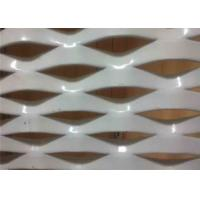 China Architectural Facade Cladding Decorative Aluminum Expanded Woven Wire Mesh For Wall wholesale