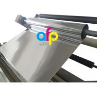 China 1 Inch Core Glossy Metalized Thermal Lamination Film BOPP / PET Material wholesale