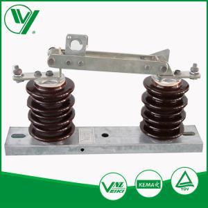 China 10KV 1.6KA Medium Voltage Disconnect Switch Elelctronic Isolator GW9-15 wholesale