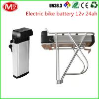China LiFePO4 Electric Bike Battery 48v 1000w With Silver Fish Box 2000 Times Cycle Life wholesale
