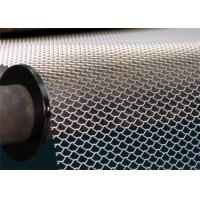 China Flattened Expanded Metal Mesh Sheet wear resistance For Building Decoration wholesale