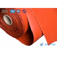 China High Temperature Resistant 1.5m Silicone Fiberglass Fabric Plain Woven Type wholesale