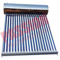 China 304 Stainless Steel Thermal Solar Water Heater Residential With Feeding Tank on sale