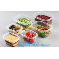 China vacuum plastic container with lid for keep fresh storage box,Vacuum Fresh Box/ Food Container/Storage Box for Food pack wholesale